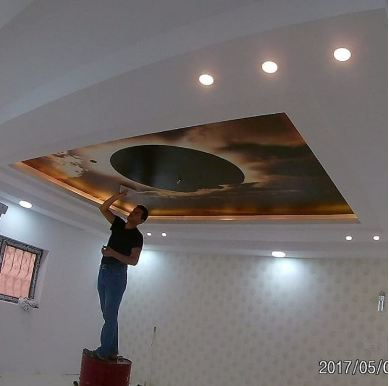 3D Roof With Internal Lighting